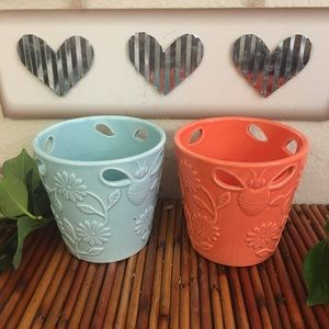 Set of Ceramic Pots for succulents or flowers
